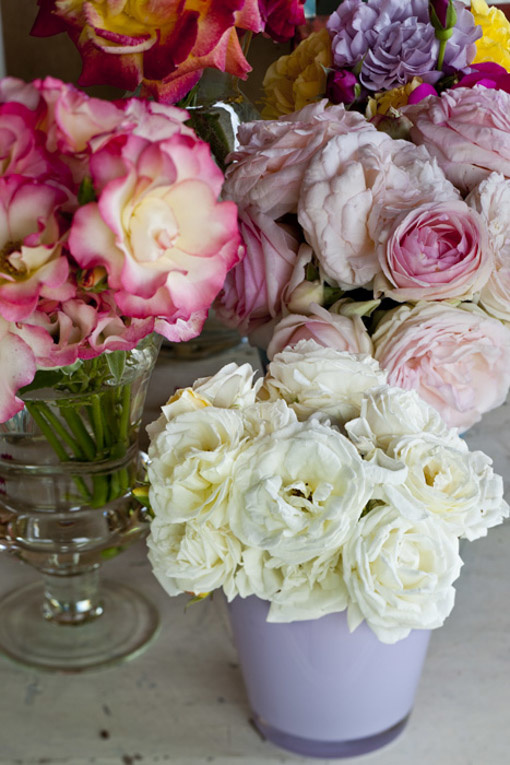 Stefano Scatà Food Lifestyle and Interiors photographer  Lunch with roses