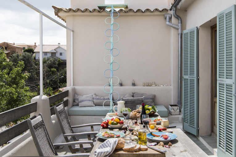 Stefano Scatà Food Lifestyle and Interiors photographer  Gesine and Gerry Haag's house in Genova,Palma di Maiorca
