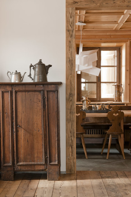 Stefano Scatà Food Lifestyle and Interiors photographer  Private house in Cortina d'Ampezzo - Deganello