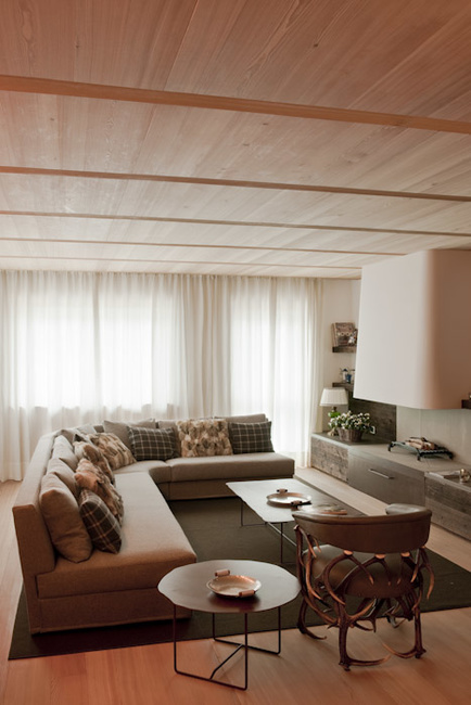 Stefano Scatà Food Lifestyle and Interiors photographer  Private house in Cortina d'Ampezzo - Lenzi