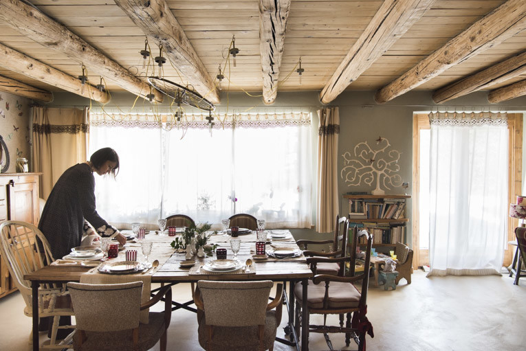 Stefano Scatà Food Lifestyle and Interiors photographer  Chalet Catelier in Verrand,Courmayer