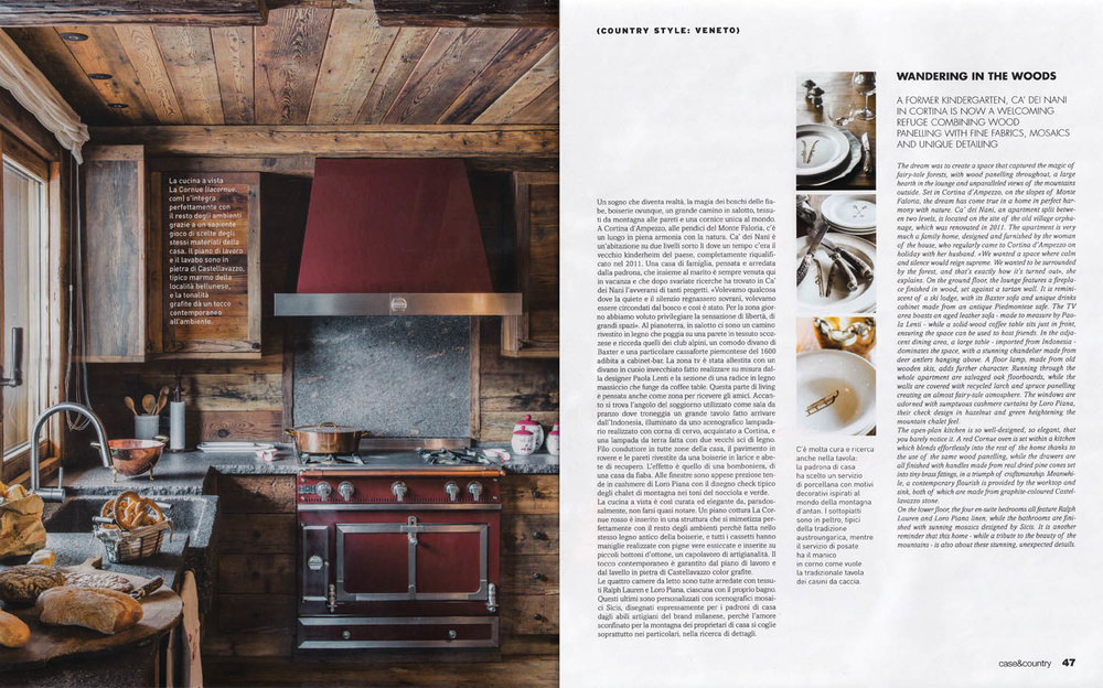 Stefano Scatà Food Lifestyle and Interiors photographer - CASE & COUNTRY gen/feb 2017