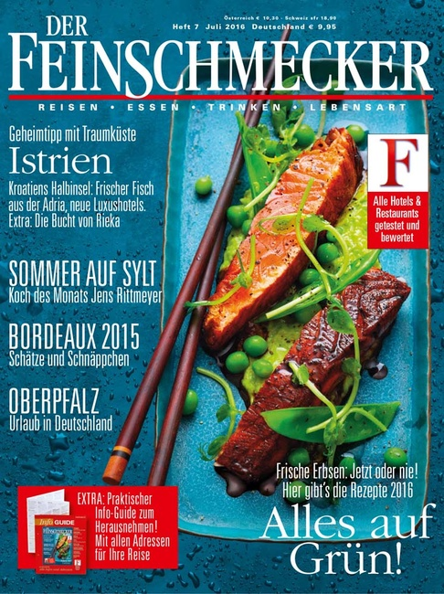 Stefano Scatà Food Lifestyle and Interiors photographer  DER FEINSCHMECKER Giugno 2016