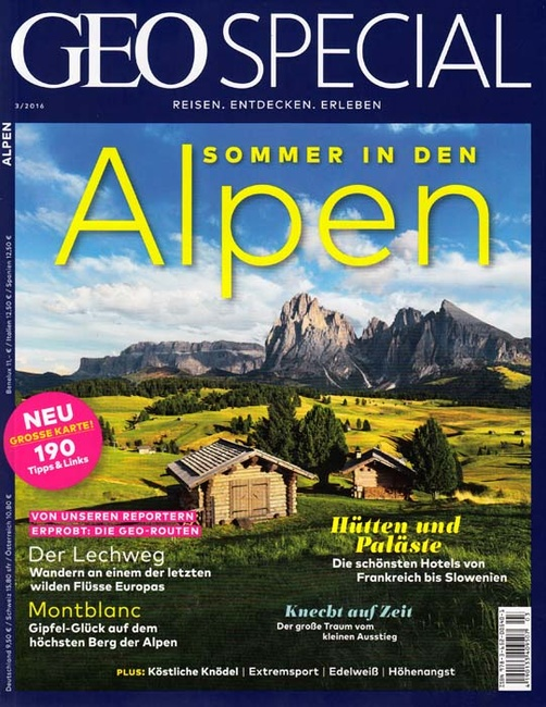 Stefano Scatà Food Lifestyle and Interiors photographer  GEO SPECIAL 3/2016 ALPEN