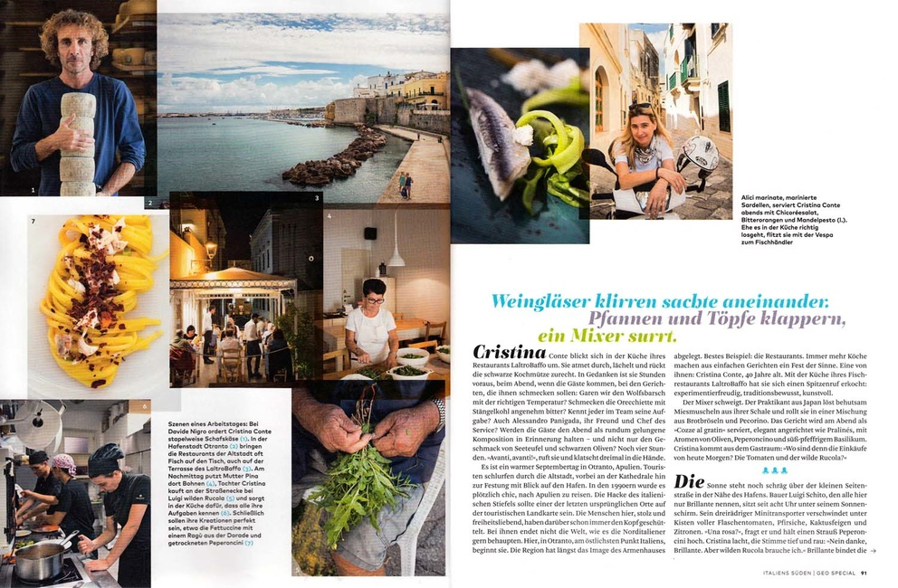 Stefano Scatà Food Lifestyle and Interiors photographer  GEO SPECIAL 2016
