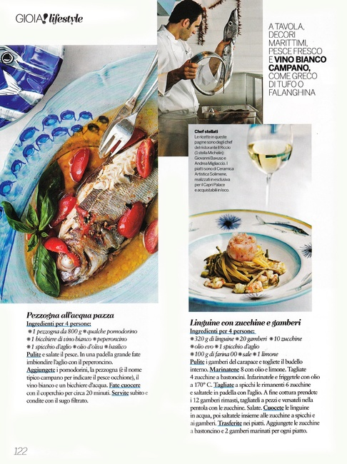 Stefano Scatà Food Lifestyle and Interiors photographer  GIOIA Agosto 2018