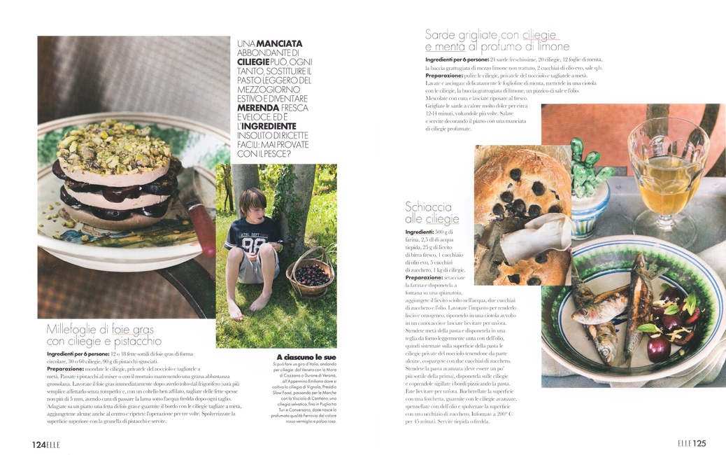 Stefano Scatà Food Lifestyle and Interiors photographer  ELLE Luglio 2019