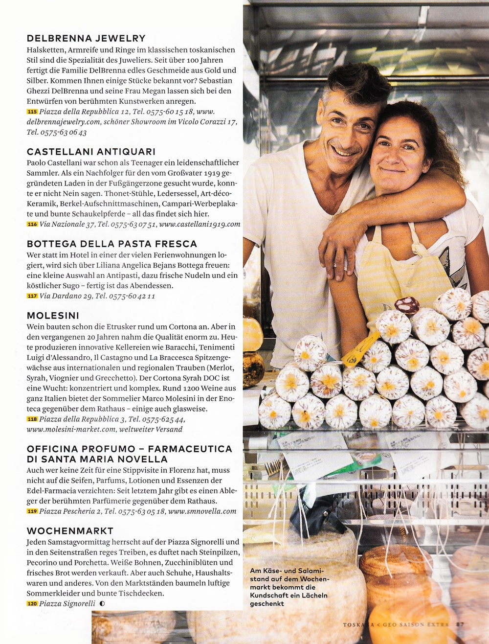 Stefano Scatà Food Lifestyle and Interiors photographer - GEO SAISON Extra Luglio 2018