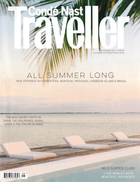 CONDE' NAST TRAVELLER September 2017